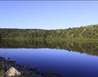 Click to enlarge photo of Lake Askoti in Harriman State Park.